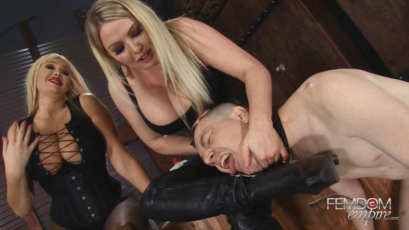Lexi Sindel, Summer Brielle - Filthy Boot Fucker [FemdomEmpire / FullHD]