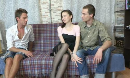 Katy, Ivan, John - A game of courtesan (2012/FullHD)