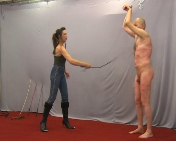 Severe Whipping with Lady Jenny (23 Jun 2016) [Cruel-Mistresses / SD]