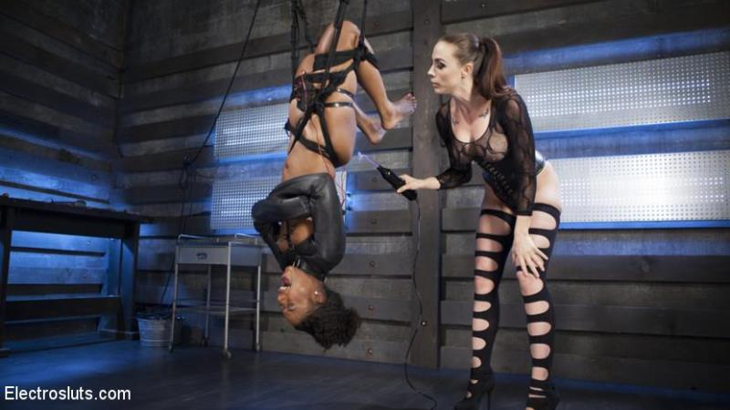 Chanel Preston, Chanell Heart (Shock the System: Sexual deviant bound & lesbian electrosexed!/ 25.08.2016) [ElectroSluts, K1nk / HD]