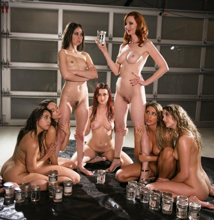 Lesbian Way - Sara Luvv, Kenna James, August Ames, Riley Reid, Cassidy Klein, Karlie Montana, Kendra James - Missing: Part Six  [HD 720p]