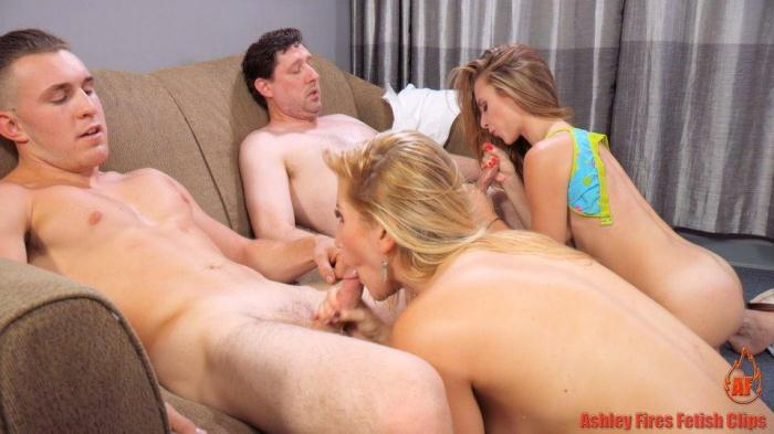 Clips4Sale.com - Ashley Fires, Anya Olsen - Family Picnic - Part 3 (Group sex) [FullHD, 1080p]