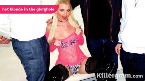 GloryHoleGaggers.com [Lexi Lou - Hot Blonde In The Gloryhole] SD, 360p