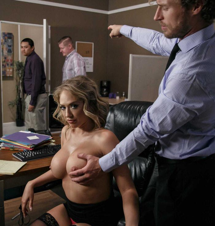 BigTitsAtWork/Brazzers: Kagney Linn Karter - Hot, Bothered and Horny  [SD 480p]  (Big Tits)