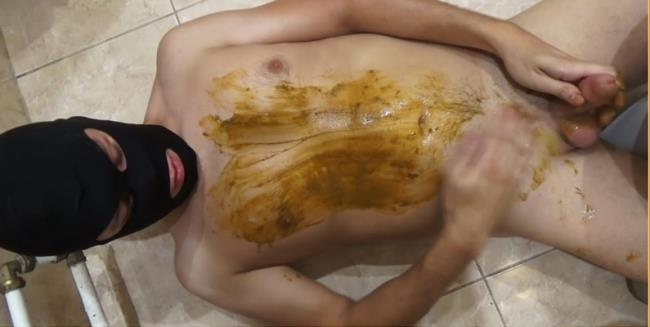 Scat Video: Amateur - Toilet Slut scat! (FullHD/2016)