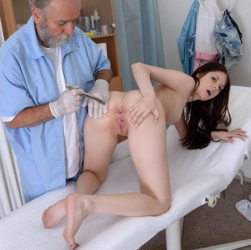 Rebecca Volpetti - 18 years girl gyno exam [HD, 720p] [Gyno-X] - Fetish
