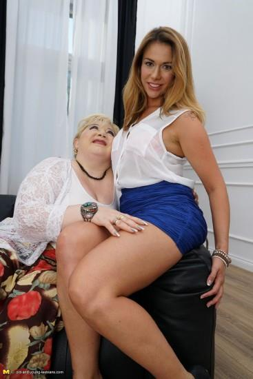 Old-and-Young-Lesbians, Mature.nl - Rosemary (43), Shanna (23) [HD, 720p]
