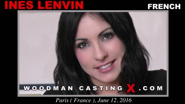Ines Lenvin (Group sex with Sexy French Teen - Anal with DP on Casting / 13.08.16) [WoodmanCastingX / SD]
