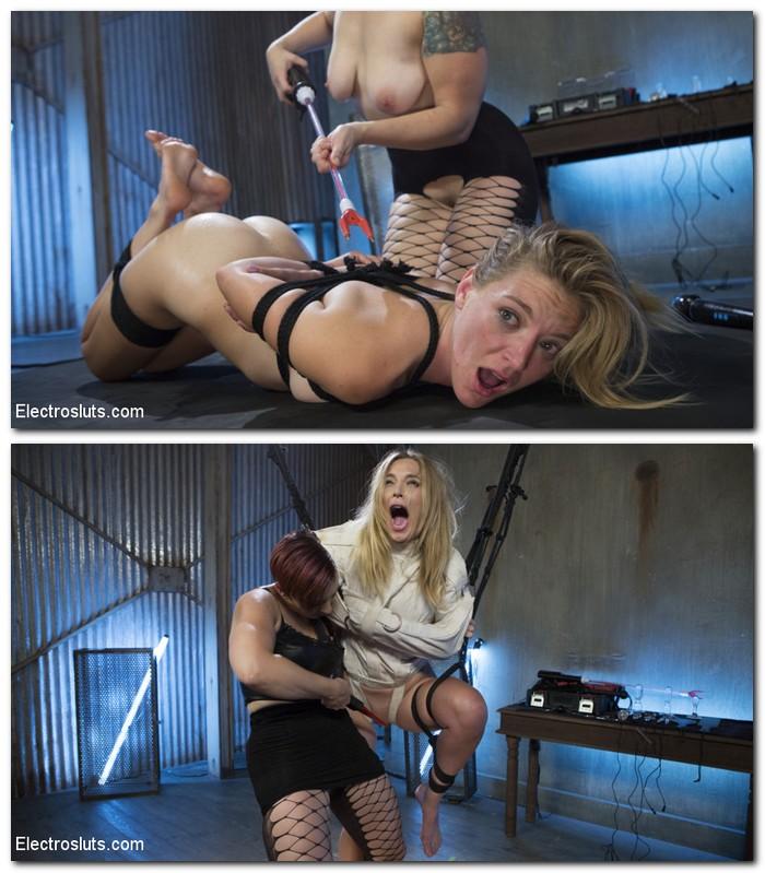 ElectroSluts.com/Kink.com - Mona Wales, Mistress Kara - Feargasms!  [SD 540p]