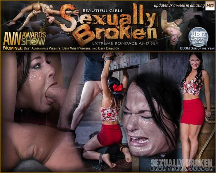 SexuallyBroken.com/RealTimeBondage.com - London River Bound Over Sybian and Face Fucked, Having Brutal Orgasms That Test Her Restraints! (BDSM) [HD, 720p]