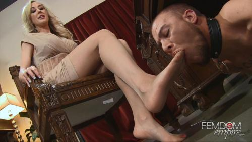 Mistress Brandi Love-Office Foot Bitch [FullHD, 1080p] [F3md0m3mp1r3] - FemDom