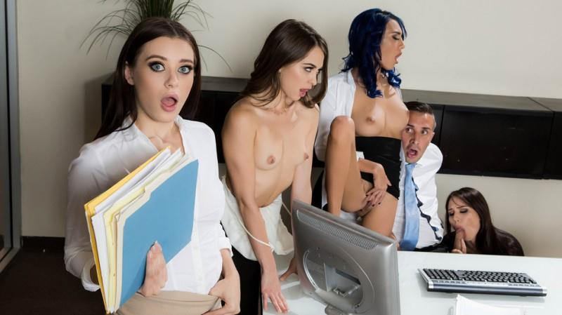 Aidra Fox, Janice Griffith, Lana Rhoades and Riley Reid [SD] (388 MB)