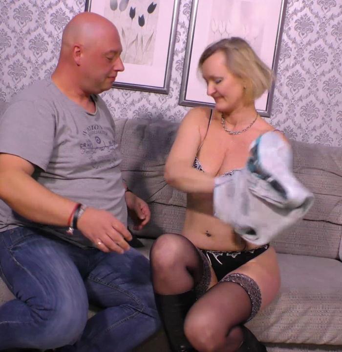 XXXOmas/PornDoePremium: Ania F, Dirk S. - German granny Ani F. getting pussy fucked  [HD 720p]  (MILF)