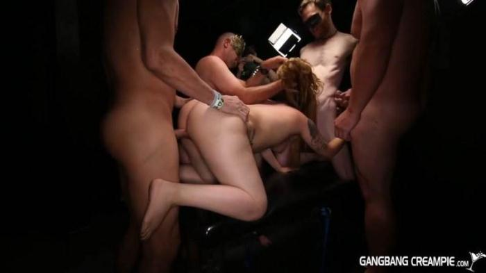 GangbangCreampie.com - Courtney Loxx - Gangbang Creampie 71 (Group sex) [SD, 540p]