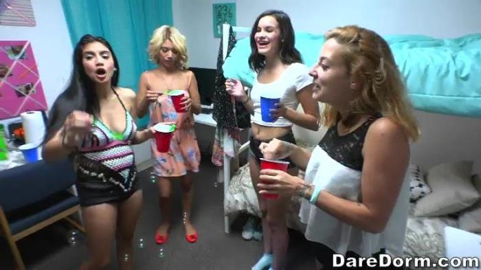 D4r3D0rm - Michelle Martinez - Bubble Party (Group, Legal Teen, Facial, BlowJobs, Gonzo, POV]) [SD, 432p]