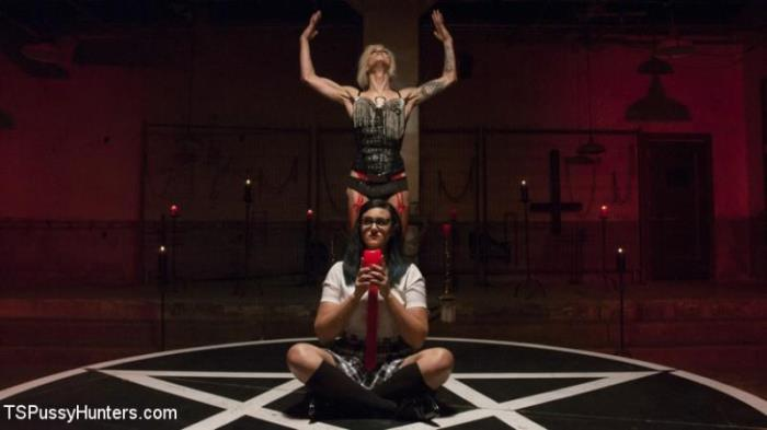 Penny Barber Summons Baphomet to seek revenge on Mother Superior (TSPussyHunt3rs) HD 720p