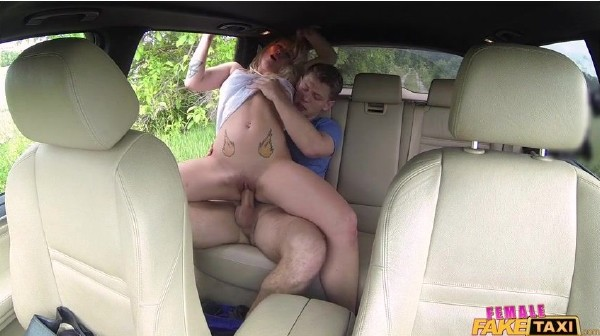 FemaleFakeTaxi: Licky Lex - Horny Taxi Driver Loves Cock (SD/2016)