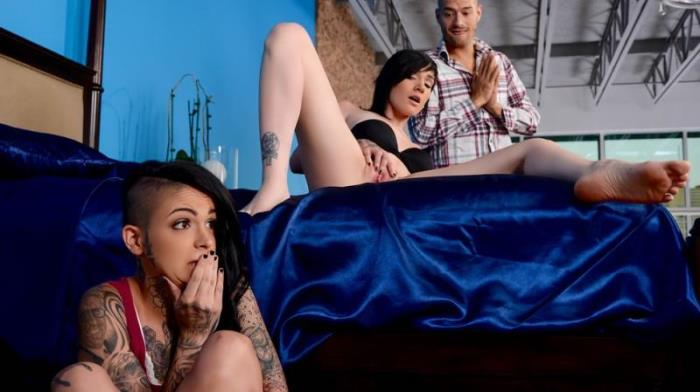 Br4zz3rsExxtra.com - Leigh Raven & Nikki Hearts (Group sex) [SD, 480p]