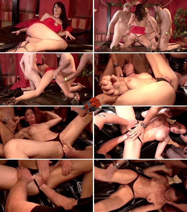 Extreme Insertion - Amateur - Bareback fisting, squirting gangbang [HD 720p]