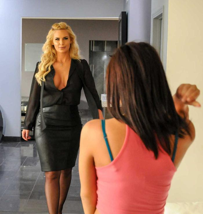 HotAndMean/BraZZers: Amara Romani,Phoenix Marie - Our Babysitters Butt: Part 1  [HD 720p]  (Lesbians)