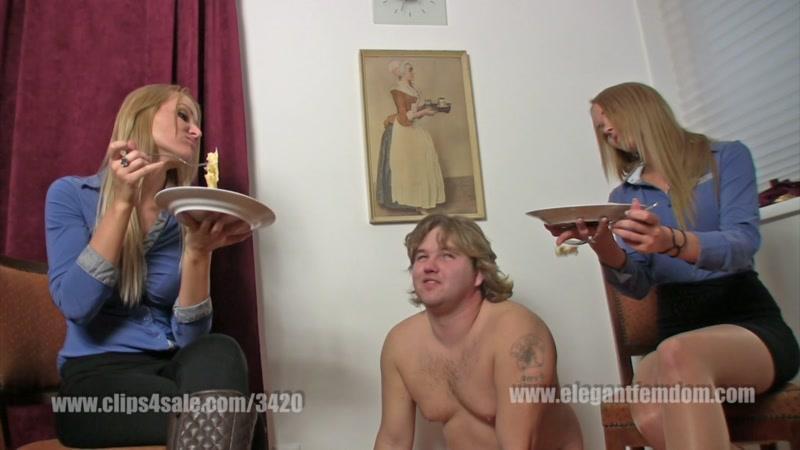 Slave feeding [Clips4Sale, Elegantfemdom / FullHD]