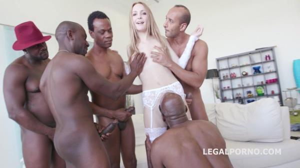 LegalPorno - Black Busters, 5on1 Belle Claire interracial BALL DEEP DP DAP GAPES 5SWALLOW GIO222 [SD, 480p]