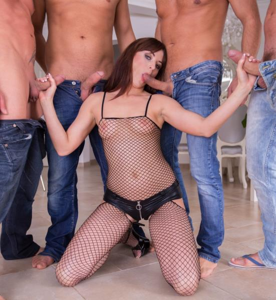 Lydia Lust - Oral Gang Bang [SD 540p] CumForCover.com