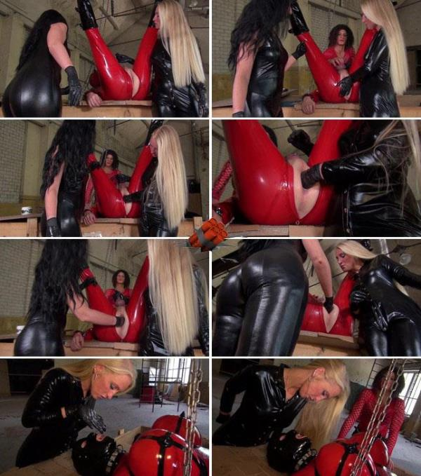 Fisting academy - Latex doll cum play: Amateur - Extreme Insertion 1080p
