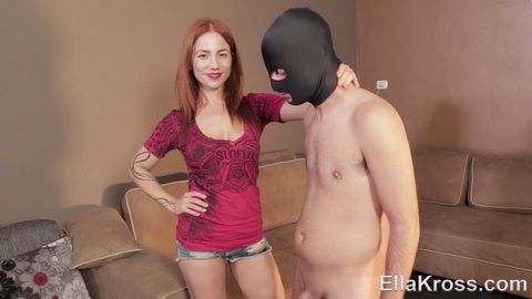 Mistress - Will I Let This Virgin Loser with a Small Cock Cum? [FullHD 1080p] EK