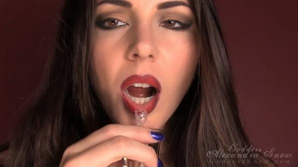 Amateur Intimate Spit Slave [Femdom Pov Video 720p]
