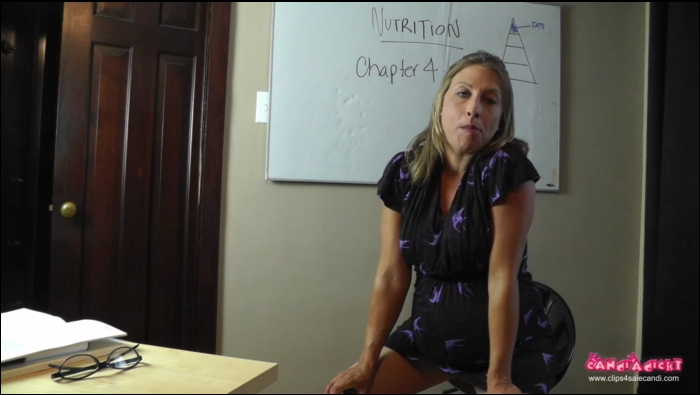 Clips4sale: Candi (Pregnant Playpen) - The Teachers Lesson  [FullHD 1080]