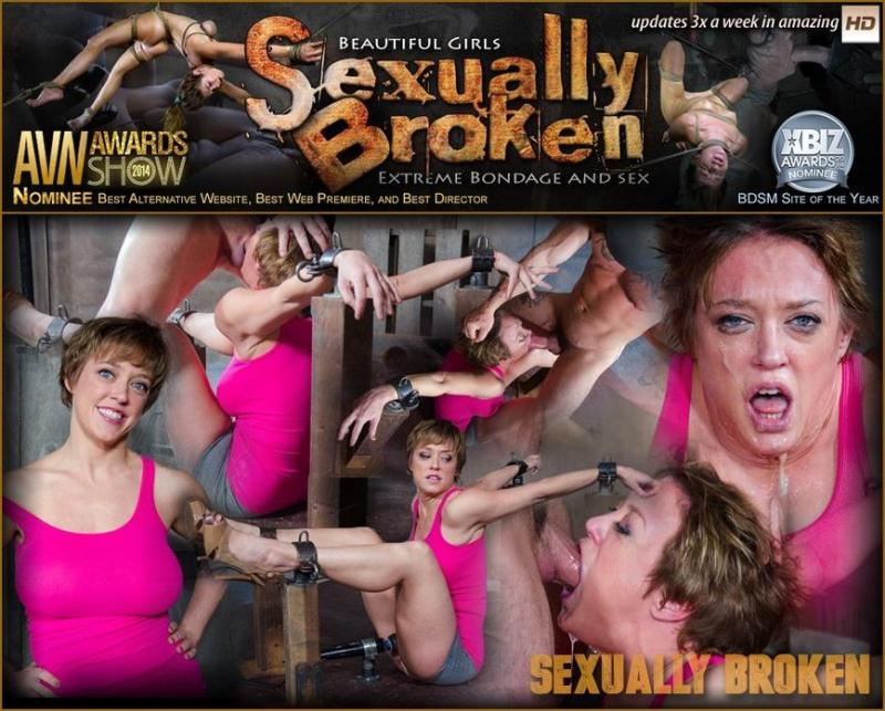SexuallyBroken.com: Dee Williams, Matt Williams, Sergeant Miles - Dee Williams Shows Off Amazing Cock Sucking Skills in Bondage and is Vibrated to Multiple Orgasms! [SD] (119 MB)