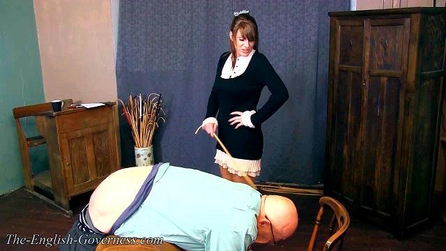 Mistresses spanking Fat Slave (The-english-governess) HD 720p
