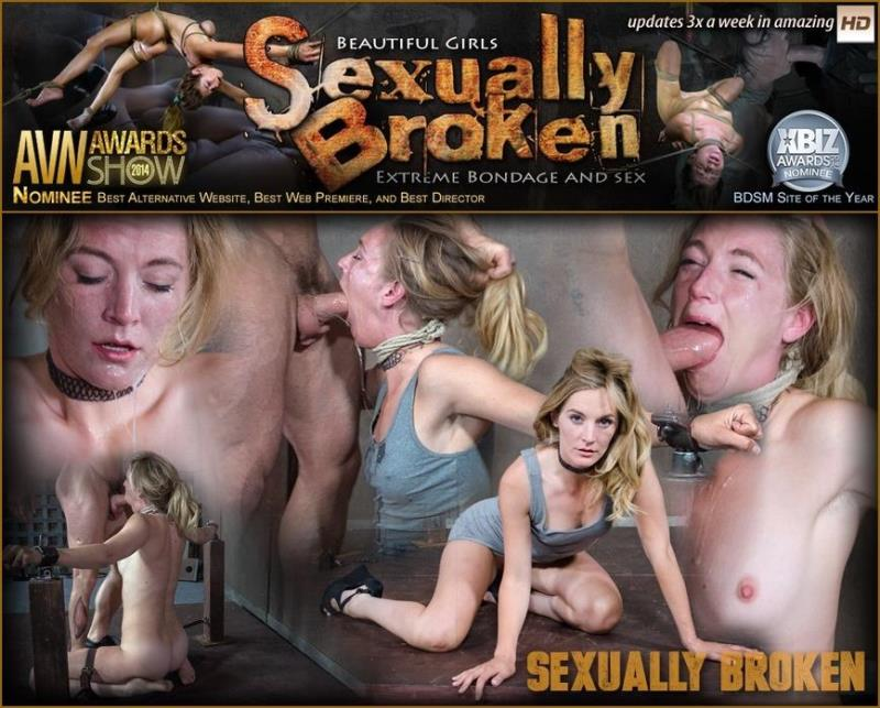SexuallyBroken.com: Beautiful Mona Wales Gets Face Fucked and Vibrated to Multiple Orgasms! [HD] (476 MB)