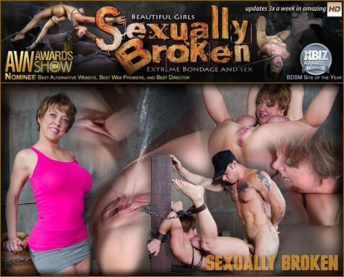 SexuallyBroken.com [Dee Williams Fucked in Strenuous Bondage and Has Multiple Squirting Orgasms!] HD, 720p