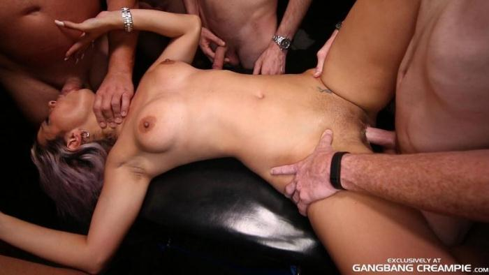 GangbangCreampie.com - Alana Luv - Gangbang Creampie 69 (Group sex) [SD, 400p]