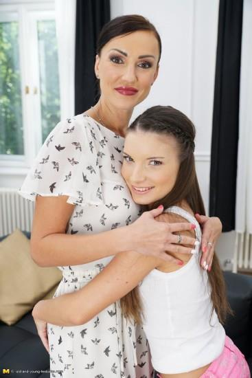 Natalya E. (38), Sage (aka Anita Bellini) (21) [Old-and-Young-Lesbians, Mature.nl / HD]