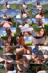 Redly- Redhead Student Fucked on a Hill  [HD 720p] Public Casting