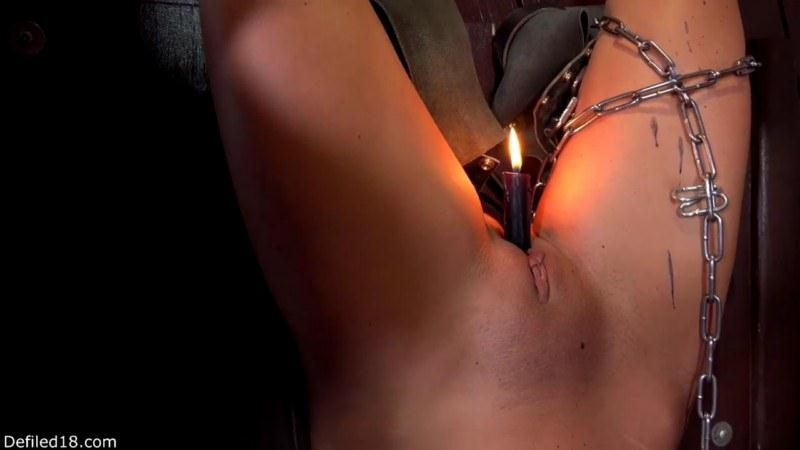 Young captive and her torment [Defiled18 / HD]