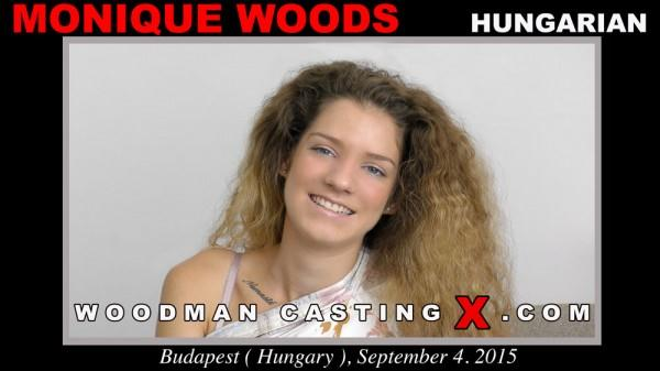 Monique Woods (Threesome Hardcore with Anal / Casting X 152 / 15.08.16) [WoodmanCastingX / SD]
