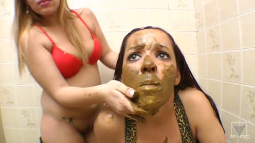 Scat [Scat Toilette Fight By Anny Portilla] FullHD, 1080p