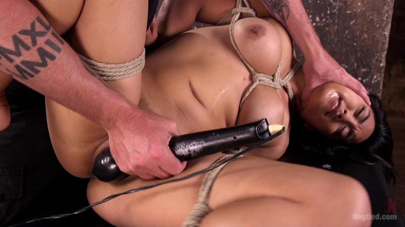 Mia Li (Brutal Hair Suspension, Grueling Bondage, Torment, and Orgasms!!! / 18.08.2016) [HogTied, K1nk / HD]