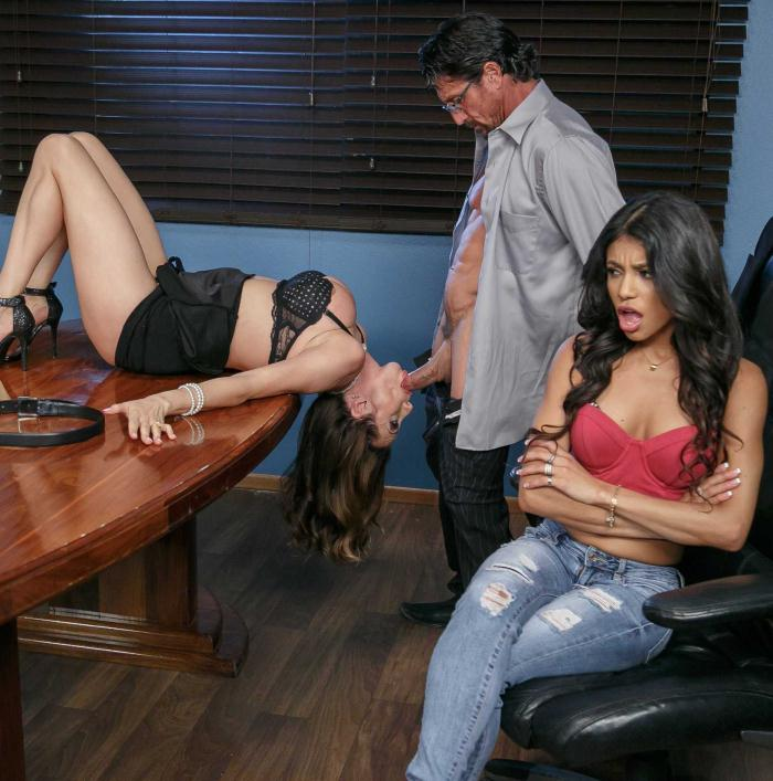 RealWifeStories/Brazzers: Ariella Ferrera, Veronica Rodriguez - A Dick Before Divorce  [HD 720p]  (Threesome)