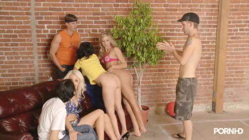 [Coed Debauchery - Part 1 - Chastity Lynn licked] HD, 720p