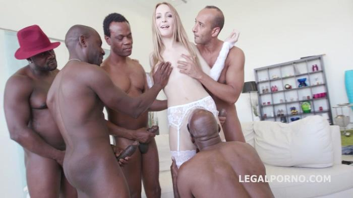 LegalPorno.com - Black Busters, 5on1 Belle Claire interracial BALL DEEP DP DAP GAPES 5SWALLOW GIO222 (Group sex) [SD, 480p]