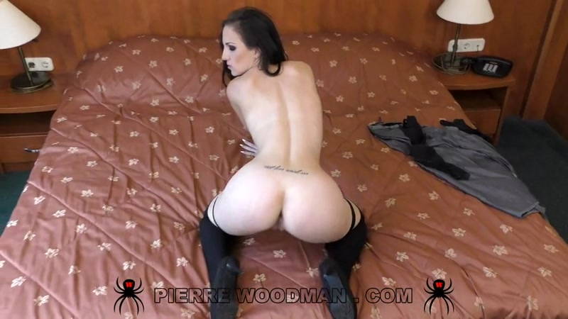 Kristy Black (Hard - Dirty fuck with 2 men / 23.04.16) [PierreWoodman, WoodmanCastingX / SD]