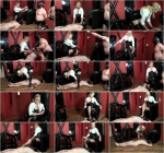 Lady Cynthia and her slave Torture (Girl-Dom.) HD 720p