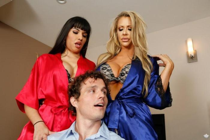 Courtney Taylor, Mercedes Carrera, Robby Echo - Tower of Power (Group sex) [SD, 544p]