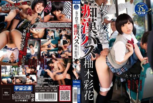 [School Girls Molester Bus-enclosed Space - Ayaka Yunoki] SD, 480p