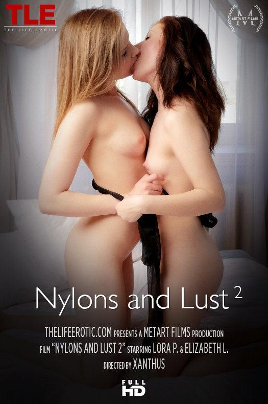 Th3L1f33r0t1c.com: Elizabeth L & Lora P - Nylons And Lust 2 [FullHD] (447 MB)